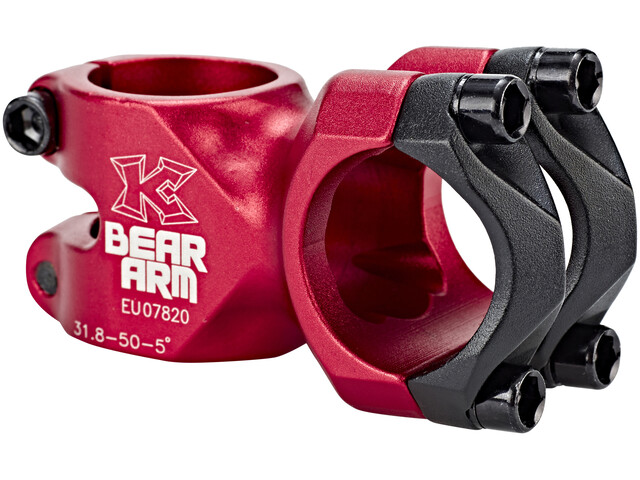 KCNC Bear Arm C - Potencia - Ø 31,8mm rojo